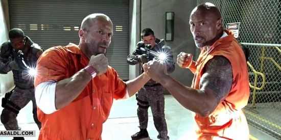 Fate of the Furious Johnson and Statham 2019